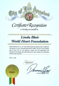 City of Los Angeles Proclamation Award