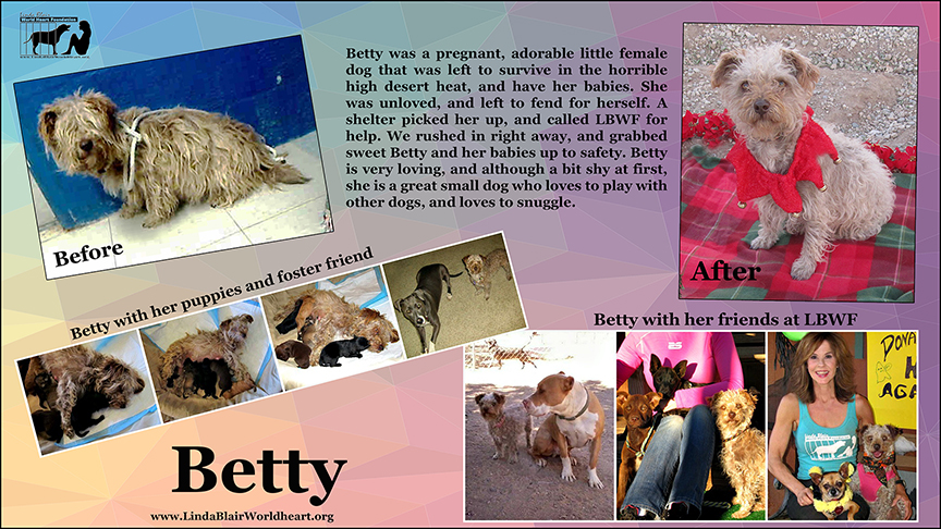 LBWF Betty before and after transformation