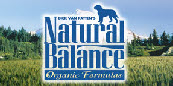 Natural Balance, our wonderful food sponsor