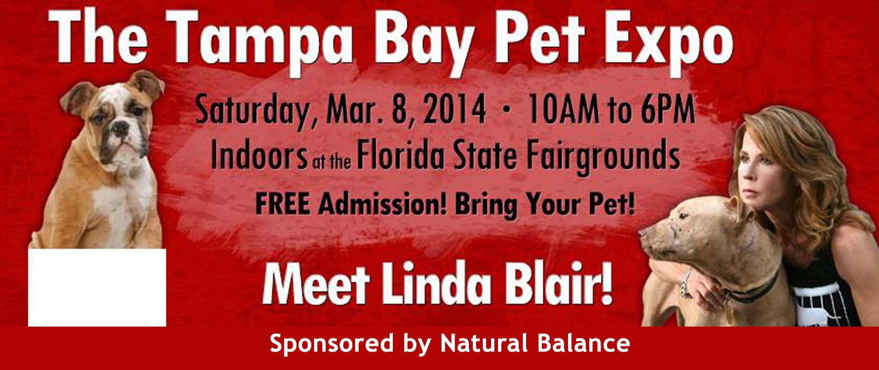 tampa pet expo red banner pic